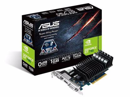 Fotografija izdelka ASUS Geforce GT 730 1GB GDDR3 PCI-E Silent Low Profile (GT730-SL-1GD3-BRK) grafična kartica