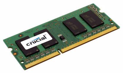 Fotografija izdelka CRUCIAL SODIMM 8GB 1600MHz 1,35V DDR3L (CT102464BF160B) ram pomnilnik