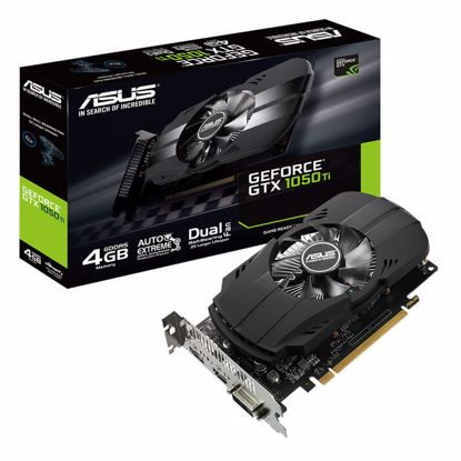 Fotografija izdelka ASUS GeForce GTX 1050 Ti Phoenix 4GB GDDR5 (PH-GTX1050TI-4G) grafična kartica