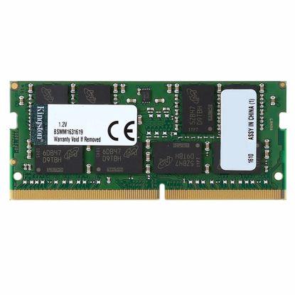 Fotografija izdelka KINGSTON SODIMM 16GB 2400MHz DDR4 (KVR24S17D8/16) ram pomnilnik
