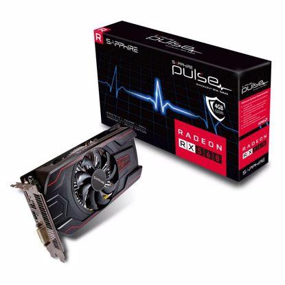 Fotografija izdelka SAPPHIRE PULSE Radeon RX 560 OC 4GB GDDR5 (11267-18-20G) lite grafična kartica