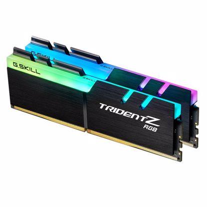 Fotografija izdelka G.SKILL Trident Z RGB za AMD 16GB (2x8GB) 3200MHz DDR4 RGB (F4-3200C16D-16GTZRX) ram pomnilnik