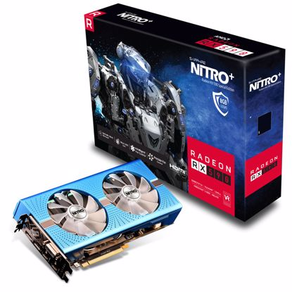 Fotografija izdelka SAPPHIRE NITRO+ Radeon RX 590 8GB Special Edition grafična kartica