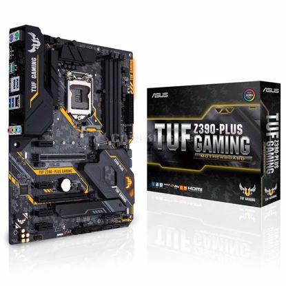 Fotografija izdelka ASUS TUF Z390-PLUS GAMING LGA1151 (9th/8th-gen) ATX DDR4 RGB gaming matična plošča