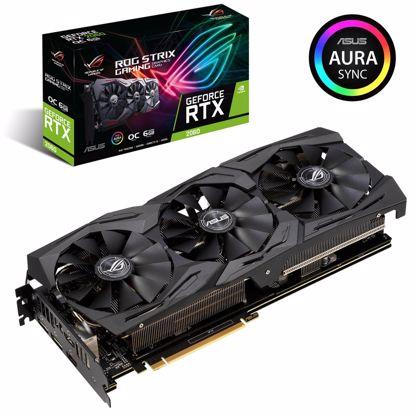 Fotografija izdelka ASUS ROG Strix GeForce RTX 2060 OC edition 6GB GDDR6 (ROG-STRIX-RTX2060-O6G-GAMING) grafična kartica