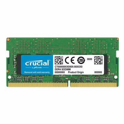 Fotografija izdelka CRUCIAL SODIMM 8GB 2400MHz DDR4 (CT8G4SFD824A) ram pomnilnik