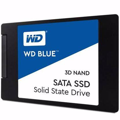 """Fotografija izdelka WD Blue 500GB 2,5"""" SATA3 (WDS500G2B0A) SSD"""