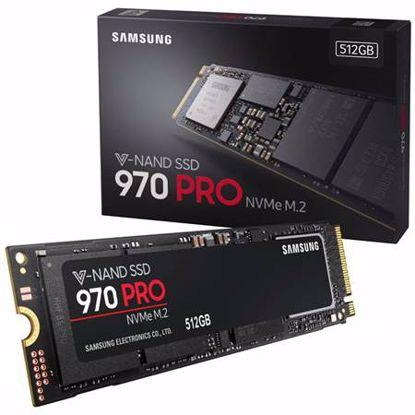 Fotografija izdelka SAMSUNG 970 PRO 512GB M.2 PCIe NVMe (MZ-V7P512BW) SSD