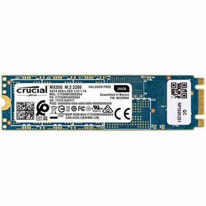 Fotografija izdelka CRUCIAL MX500 250GB M.2 2280 SATA3 (CT250MX500SSD4) SSD