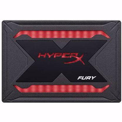 """Fotografija izdelka KINGSTON HyperX FURY RGB SSD 240GB 2,5"""" SATA3 TLC (SHFR200/240G) SSD"""
