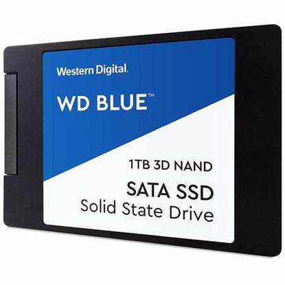 """Fotografija izdelka WD BLUE 3D NAND 1TB 2,5"""" SATA3 (WDS100T2B0A) SSD"""