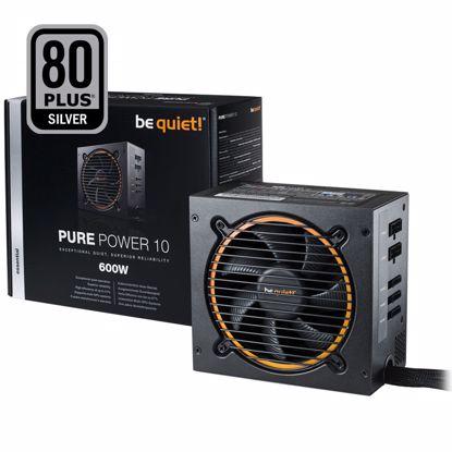 Fotografija izdelka BE QUIET! Pure Power 10 600W CM (BN278) 80Plus Silver modularni ATX napajalnik