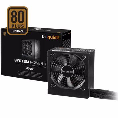 Fotografija izdelka BE QUIET! System Power 9 600W (BN247) 80Plus Bronze ATX napajalnik