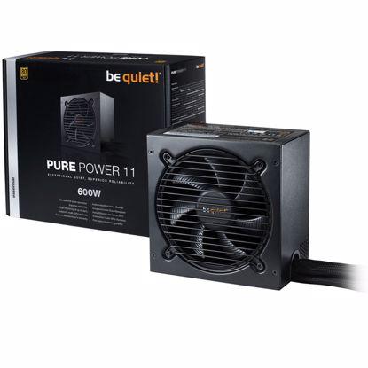 Fotografija izdelka BE QUIET! Pure Power 11 600W (BN294) 80Plus Gold ATX napajalnik