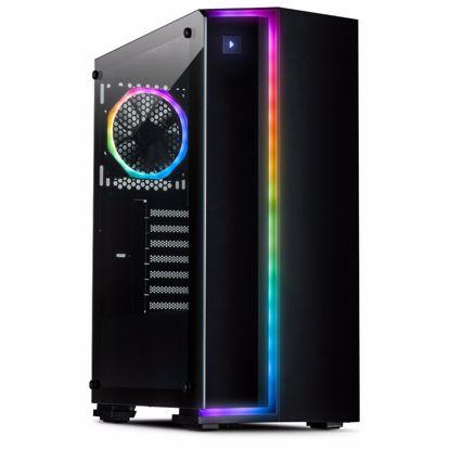 Fotografija izdelka INTER-TECH S-3906 Renegade RGB gaming ohišje