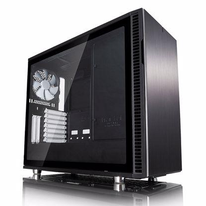 Fotografija izdelka FRACTAL DESIGN Define R6 USB-C Black TG MidiATX okno črno ohišje
