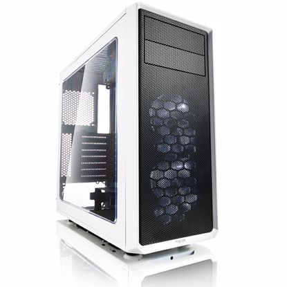 Fotografija izdelka FRACTAL DESIGN Focus G - White midiATX okno belo ohišje