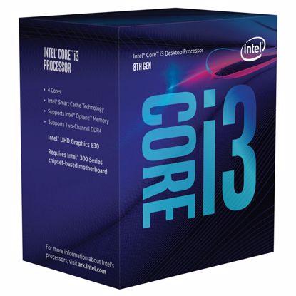 Fotografija izdelka INTEL Core i3-8100 3,60GHz 4-core 6MB LGA1151 BOX procesor