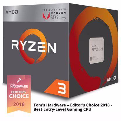 Fotografija izdelka AMD Ryzen 3 2200G 3,5/3,7GHz 4MB AM4 65W Wraith Stealth BOX procesor