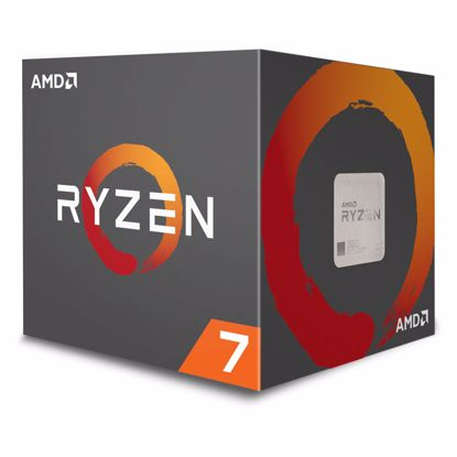 Fotografija izdelka AMD Ryzen 7 2700 3,2/4,1GHz 20MB AM4 Wraith Spire hladilnik z RGB LED BOX procesor