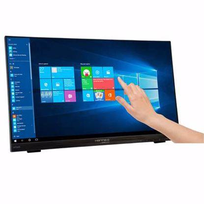 Fotografija izdelka HANNS-G HT225HPB 54,61 cm (21,5'') zvočniki na dotik IPS FHD LED monitor