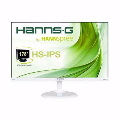 Fotografija izdelka HANNS-G HS246HFW 59,94 cm (23,6'') zvočniki bela barva IPS FHD LED monitor
