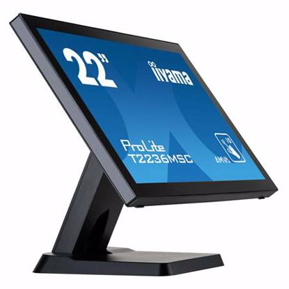 "Fotografija izdelka IIYAMA ProLite T2236MSC-B2 54,7cm (21,5"") FHD AMVA P-CAP na dotik LED LCD monitor"