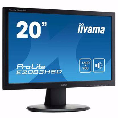 Fotografija izdelka IIYAMA ProLite E2083HSD-B1 49,4cm (19,5'') FHD TN VGA/DVI zvočniki LED LCD monitor