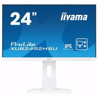 Fotografija izdelka IIYAMA ProLite XUB2492HSU-W1 60,5cm (23,8'') FHD IPS zvočniki LED LCD monitor