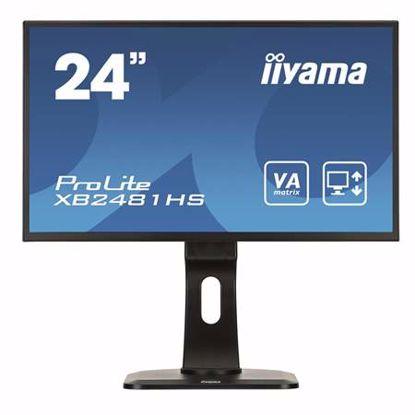 """Fotografija izdelka IIYAMA ProLite XB2481HS-B1 59,94 cm (23,6"""") VA FHD LED LCD neodsevni zvočniki monitor"""