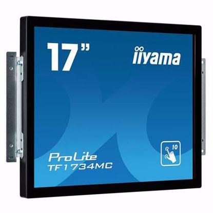 "Fotografija izdelka IIYAMA ProLite TF1734MC-B6X 43cm (17"") TN LED P-CAP open frame na dotik LCD monitor"