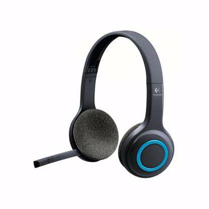Fotografija izdelka LOGITECH H600 brezžične z mikrofonom slušalke