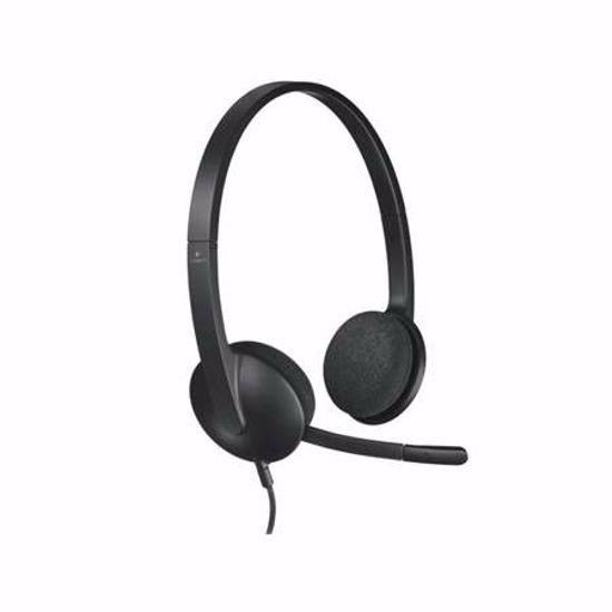 Fotografija izdelka LOGITECH H340 USB z mikrofonom slušalke