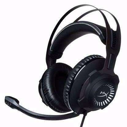 Fotografija izdelka HYPERX Cloud Revolver S (HX-HSCRS-GM/EM) USB črne z mikrofonom gaming slušalke