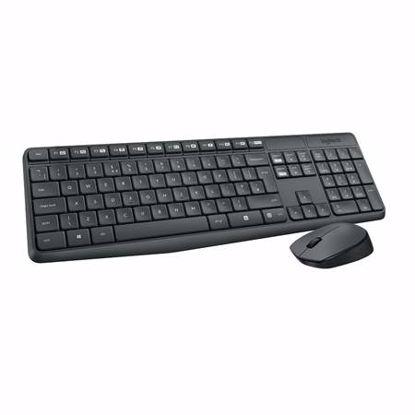 Fotografija izdelka LOGITECH MK235 brezžična črna tipkovnica + miška