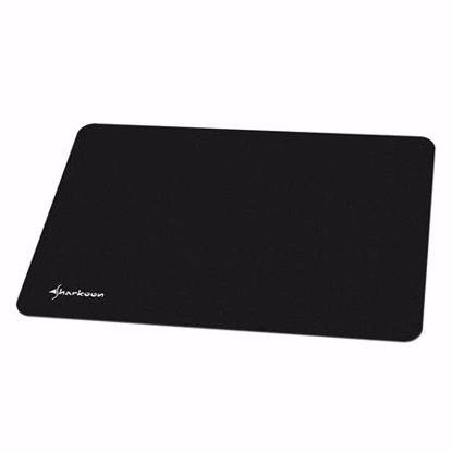 Fotografija izdelka SHARKOON 1337 črna velikost M gaming podloga za miško