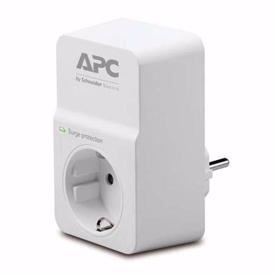 Fotografija izdelka APC SurgeArrest Essential PM1W-GR 1xSchuko prenapetostna zaščita