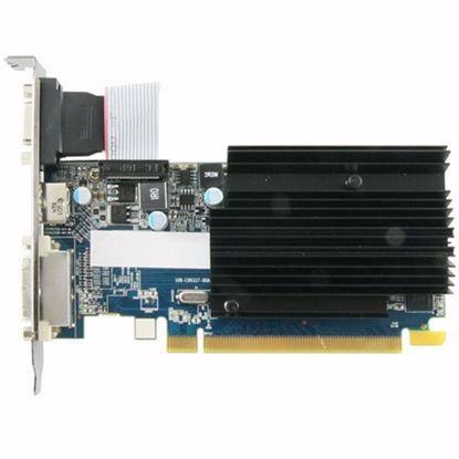 Fotografija izdelka SAPPHIRE Video Card AMD Radeon R5 230 DDR3 1GB/64bit, 625MHz/1334MHz, PCI-E 2.1 x16, HDMI, DVI-D, VGA, Heatsink, Low-profile, Lite Retail