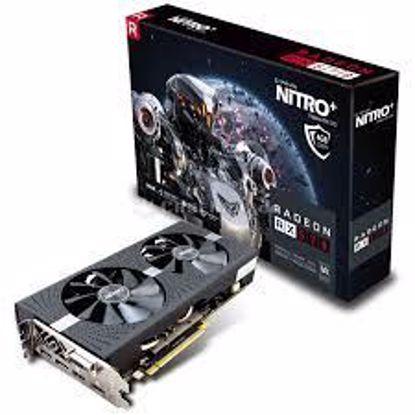 Fotografija izdelka SAPPHIRE Video Card AMD Radeon NITRO+ RADEON RX 570 8G GDDR5 DUAL HDMI / DVI-D / DUAL DP W/BP (UEFI)