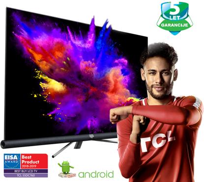 "Fotografija izdelka LED TV TCL 65"" (diagonala 165cm) 65DC760 4K UHD, Android, Smart WiFi, HDR PRO, 10bit, JBL/Harman, Micro Dimming, Ultra Slim"