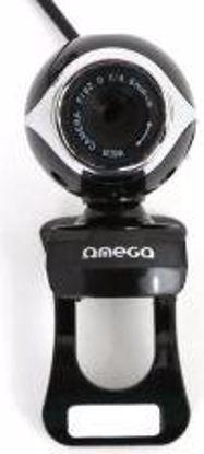Fotografija izdelka WEB Kamera Omega Webcam C10 2Mpix (12Mpix interpolated) z mikrofonom USB + 3,5mm Platinet (OUW10SB)