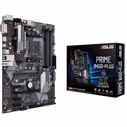 Fotografija izdelka ASUS PRIME B450-Plus AM4 ATX osnovna plošča