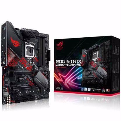 Fotografija izdelka ASUS ROG Z390-H GAMING LGA1151 (8th/9th-gen) DDR4 ATX osnovna plošča