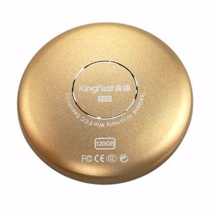 Fotografija izdelka Kingfast Portable SSD P600 120GB Type-C (kingfast-portable-p600-120gb) mini zunanji SSD
