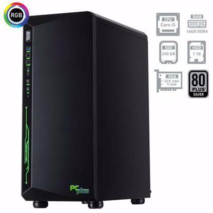 Fotografija izdelka PCPLUS Gamer i5-9400F 16GB 240GB SSD + 1TB GTX1660Ti 6GB namizni gaming računalnik