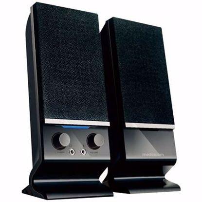 Fotografija izdelka MEDIACOM MediaSound DT203 2.0 6W črni zvočniki