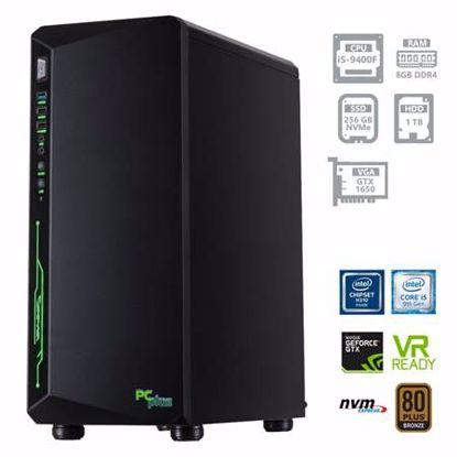 Fotografija izdelka PCPLUS Gamer i5-9400F 8GB 256GB SSD NVMe + 1TB HDD GTX1650 4GB DOS