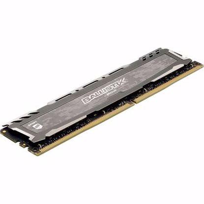 Fotografija izdelka CRUCIAL Ballistix Sport LT 8GB 2666 DDR4 UDIMM (BLS8G4D26BFSBK) gaming ram pomnilnik