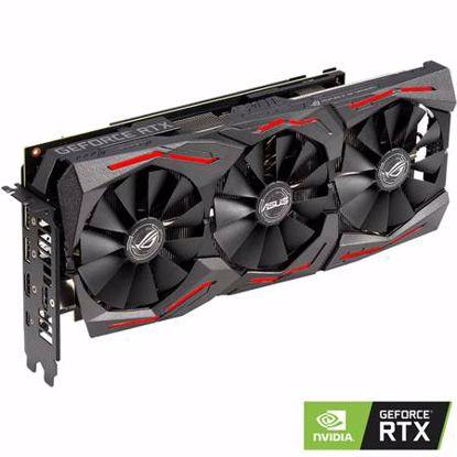 Fotografija izdelka ASUS ROG Strix GeForce RTX 2060 SUPER 8GB GDDR6 RGB (ROG-STRIX-RTX2060S-8G-GAMING) grafična kartica