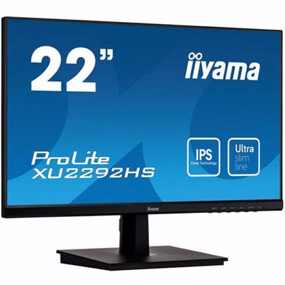 "Fotografija izdelka IIYAMA PROLITE XU2292HS-B1 54,6cm (21,5"") FHD IPS zvočniki LED LCD monitor"
